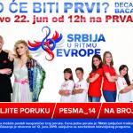 """ОТВОРЕНО ГЛАСАЊЕ ЗА ТАКМИЧЕЊЕ """"СРБИЈА У РИТМУ ЕВРОПЕ"""""""